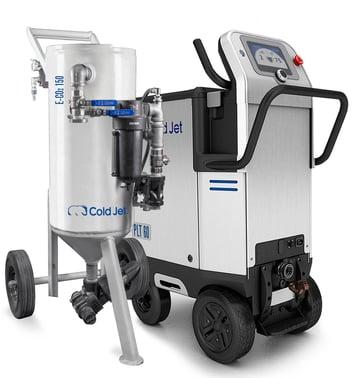 cold jet E-CO2 dry ice blaster